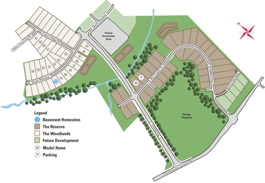 Walden-Homes-Huntersville-Site-Plan