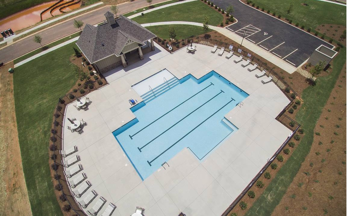 Cobblestone-Manor-Homes-Huntersville-NC-Pool