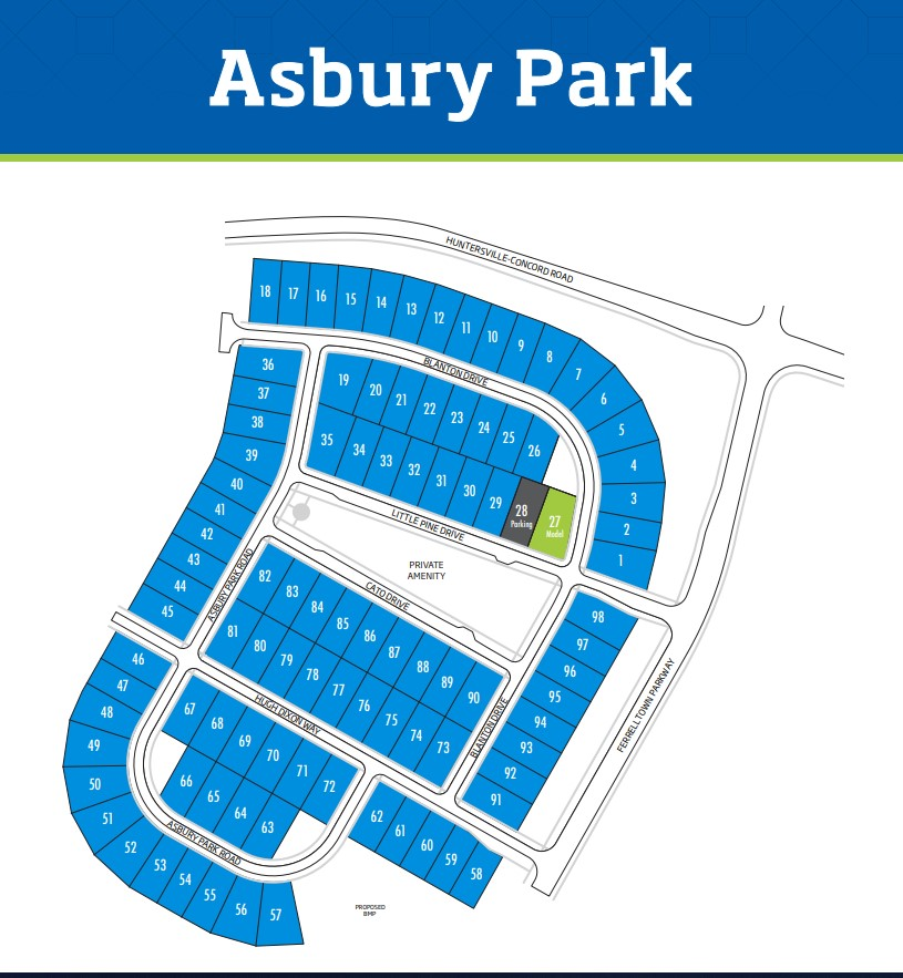 Asbury-Park-Homes-Huntersville-Site-Map