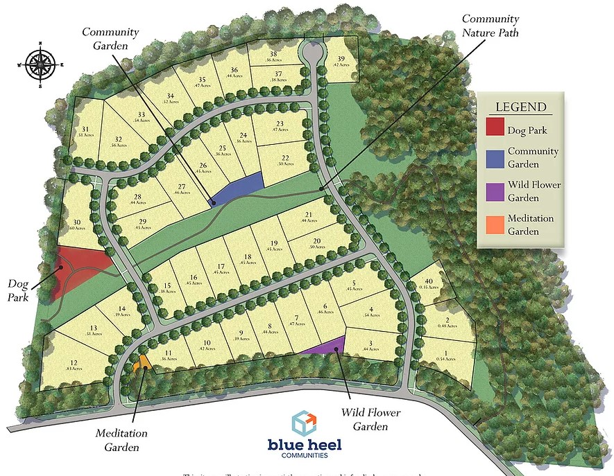 Hollins-Grove-Homes-Huntersville-NC-Site-Map